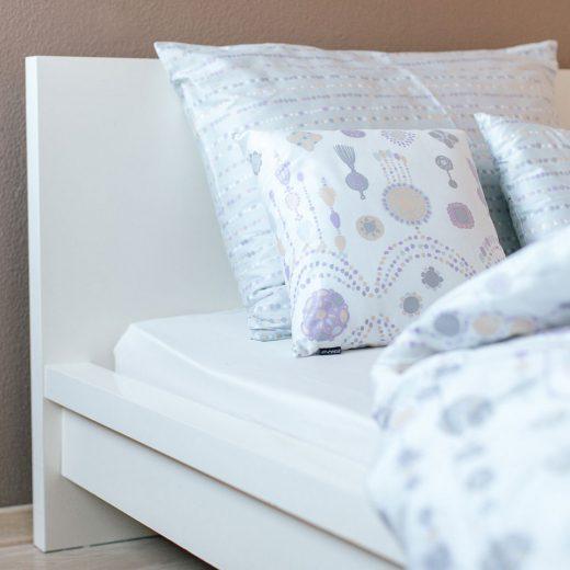 posteljnina iz satena