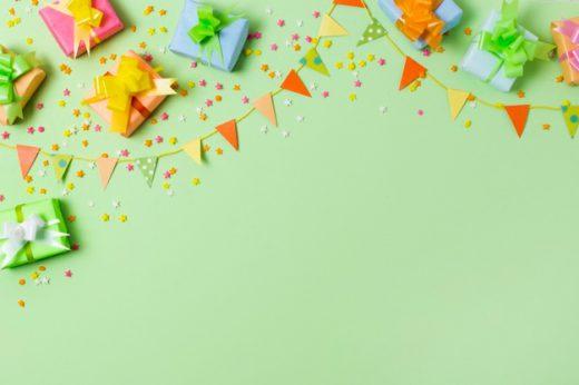 Praznovanje rojstnega dne za naše najmlajše